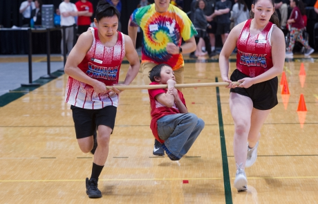 Native Youth Olympics at the Alaska Airlines Center