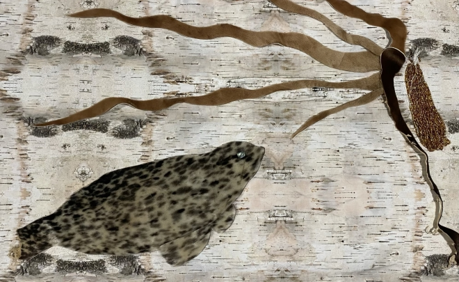 A Journey To What Matters and ASCA Partnership- ARTShops 2020 Traditional and Contemporary Skin Sewing with Marine Mammals