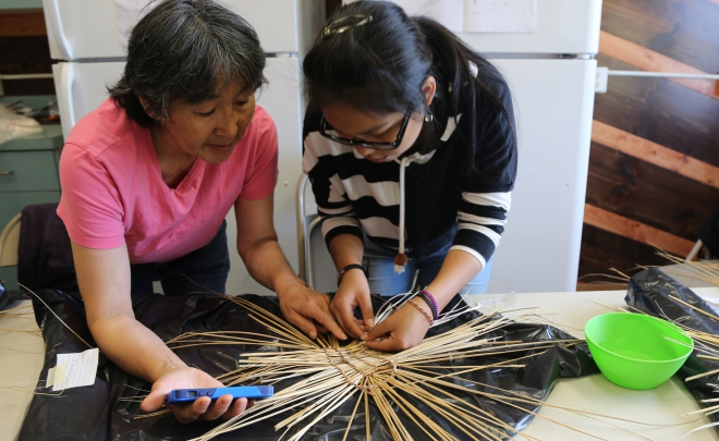 A Journey to What Matters- Weaving a Yup'ik Issran